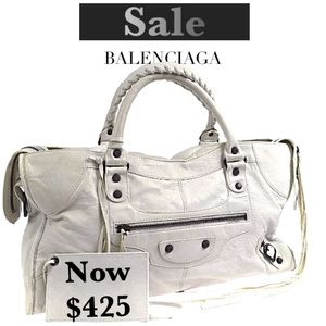 ‼️1 Day $425‼️BALENCIAGA Part Time City 2 Way Bag